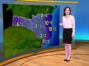 Acompanhe a previsão do tempo para Santa Catarina - Acompanhe a previsão do tempo para Santa Catarina.