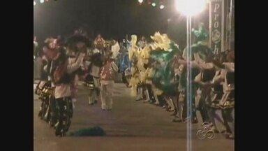 Antes do Festival Folclórico, ciranda toma conta do Bumbódromo de Parintins - Na Ilha Tupinambarana, não é só o boi-bumbá que é comemorado em junho. O mês também conta com apresentações de ciranda.