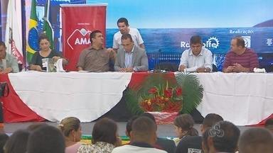 Macapá realiza 5ª conferência municipal das cidades - Macapá realiza a 5ª conferência municipal das cidades. Durante dois dias serão discutidas melhorias nas áreas de habitação, mobilidade e desenvolvimento urbano.