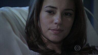Paloma afirma que Bruno não levará Paulinha para casa - Ela pede para Ciça ajudá-la a manter o corretor longe