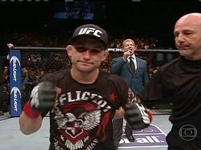Frankie Edgar vence Charles do Bronx por decisão unânime no UFC 162 - Brasileiro não resistiu ao oponente.