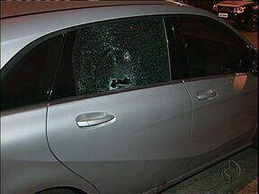 Três são baleados em tentativa de assalto no Batel - Policial foi baleado na cabeça