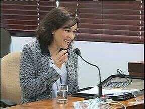 Em sabatina candidata ao TC se declara fã de deputada - Dez candidatos foram ouvidos hoje de manhã