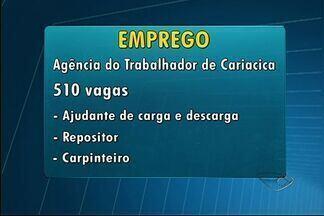 Agências do Sine começam semana com 375 vagas de emprego no ES - As vagas estão disponíveis nos 11 postos de atendimento do Sine.Cariacica oferta um total de 186 oportunidades essa semana.