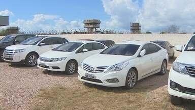Veículos de luxo apreendidos na Operação Apocalipse poderão ir a leilão judicial em RO - Alguns veículos estão avaliados em mais de R$ 150 mil e teriam sido comprados com o dinheiro sujo do narcotráfico e estelionato.