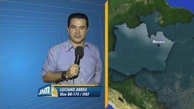 Presos fazem reféns durante rebelião em presídio, em Manaus - Há suspeita de que um dos reféns tenha morrido.Rebelião teve início por volta das 16h30 desta terça-feira, no Ipat.