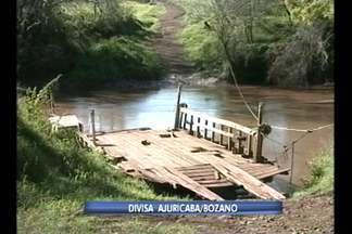 Aprovado pelo legislativo de Bozano cerca de 50 mil reais para construção de uma ponte. - Ponte sobre o rio Ijuí, vai ligar o município a Ajuricaba.