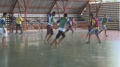 Comemoração dos 13 anos do ECA termina com programação esportiva, em Manaus - Jovens que cumprem medidas socioeducativas fizeram diversas atividades.