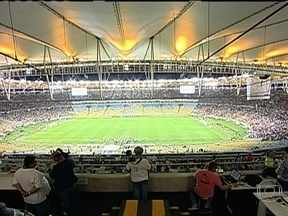 Após reforma, Novo Maracanã recebe pela primeira vez clássico entre Fluminense e Vasco - Torcedores e pessoas que trabalhavam no estádio sentiram a diferença.