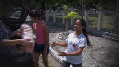 Torcedores são convocados para participar da campanha 'Torcida Contra a Seca' - Campanha visa arrecadar alimentos para os municípios atingidos pela estiagem