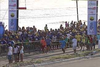 Corrida São Luís conta com a presença de mil atletas - Larisse Nascimento foi uma das vencedoras da prova realizada na Avenida Litorânea