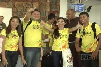Mais de cinco mil maranhenses participarão da Jornada Mundial da Juventude, no Rio - Os peregrinos estão ansiosos para o encontro com o Papa Francisco, que desembarcou nesta segunda (22) à tarde no Brasil.