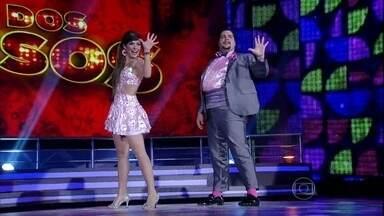 Confira os famosos que já estão na fase decisiva do 'Dança 2013' - No próximo Domingão, você vai curtir essas feras de volta ao palco do Domingão