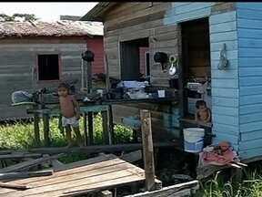 Cidades do Maranhão, do Pará, de Roraima e do Amazonas sofrem com suspeita de corrupção - Os moradores de Melgaço, no Pará, pedem que seus direitos sejam respeitados. Nas ruas da cidade, é possível ver várias obras paradas.