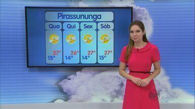 Confira a previsão do tempo para São Carlos e região nesta terça-feira (6) - Confira a previsão do tempo para São Carlos e região nesta terça-feira (6).