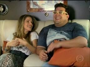 André Marques bate papo com Ingrid Guimarães na limousine do Vídeo Show - Atriz comenta sobre os diferentes trabalhos que já realizou na TV