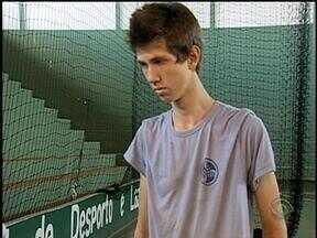 Gaúchos se destacam nas quadras de vôlei - Novo talento está surgindo no interior do RS.