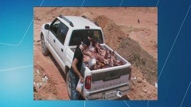 Vigilância Sanitária apreende carne sem certificado de origem em Nova Olinda do Norte, AM - Fiscalização deve continuar durante tempo indeterminado.
