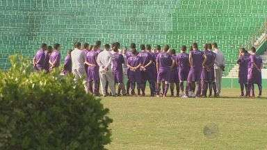 Guarani enfrenta o Vila Nova nesta quinta, em Campinas - O Guarani enfrenta o Vila Nova, de Goiás nesta quinta-feira (8), em Campinas (SP). O técnico do brugre, Tarcísio Pugliese tem praticamente todo o time a disposição para esta partida.