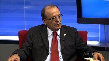 Tribunal Reginonal do Trabalho faz reunião para discutir acidentes de trabalho - Desembargador José Antônio Parente fala sobre o assunto.