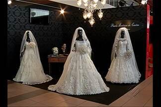 Feira apresenta as novidades para quem vai subir ao altar em 2013 - Feira apresenta as novidades para quem vai subir ao altar em 2013