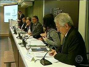 Governantes pedem ampliação de gás para estados da região sul e do Mato Grosso do Sul - O encontro foi em Florianópolis
