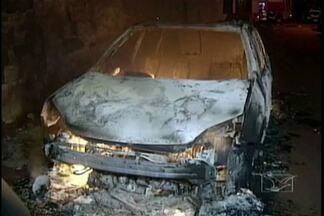 Viatura do Centro de Detenção Provisória foi incendiada em Açailândia - Ato de vandalismo coloca em risco o trabalho da segurança pública. Uma viatura do Centro de Detenção Provisória foi incendiada em Açailândia. Até agora ninguém foi preso.