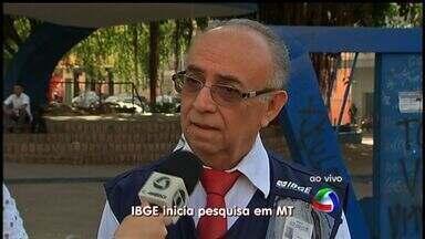 IBGE começa a coletar dados da pesquisa nacional de saúde em Mato Grosso - Começa nesta terça-feira em Mato Grosso a coleta de dados da pesquisa nacional de saúde que será feita pelo Instituto Brasileiro de Geografia e Estatística (IBGE).