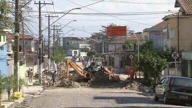 Veja as mudanças que a Avenida Antônio Emerick sofrerá a partir de domingo (25) - Várias ruas de São Vicente terão mudanças nos próximos dias