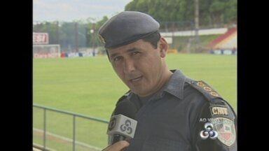 Polícia reforça segurança para jogo do Nacional contra Vasco, em Manaus - Ação de cambistas deverá receber atenção especial.