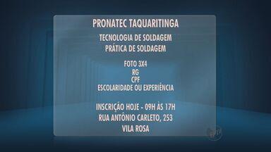 Professores podem se inscrever para Pronatec - Inscrições estão abertas nesta quarta-feira (21) entre às 9h e 17h na Secretaria de Assistência Social de Taquaritinga (SP).