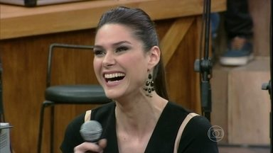 Fernanda Machado conta que sofre um pouco fazendo a Leila - Atriz comenta que se assusta com as maldades de sua vilã