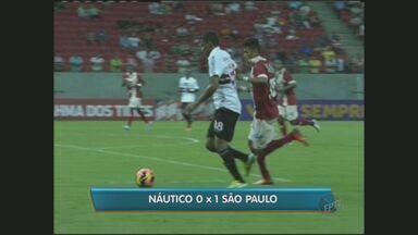 São Paulo ganha por 1 a 0 do Náutico fora de casa na noite de terça-feira pelo Brasileirão - A equipe do São Paulo ganhou por 1 a 0 do Náutico fora de casa na noite de terça-feira pela séria A do Campeonato Brasileiro.