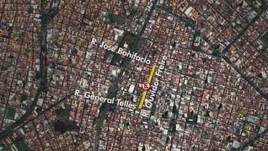 Franca reduz áreas de estacionamentos em ruas - Motoristas devem ficar atentos às mudanças de trânsito na cidade.