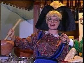 TV Pirata 1992. Vídeo Show relembra o programa Samba de Terceira - Episódio hilário mostra atração no meio da neve da Suíça