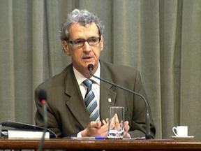 Presidente do metrô fala sobre denúncias de suposto esquema de cartel em contratos - Ele falou na Comissão de Infra-estrutura da Assembleia Legislativa. O ministério público também apura as denúncias.