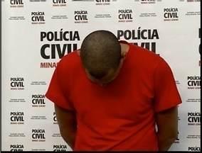 PC de Ipatinga apresenta acusado de violentar sexualmente de jovens na região - Homem é acusado de violentar jovens na década de 90.