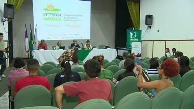 Congresso de Comunicação espera reunir 2 mil pessoas em Manaus - Universitários de diversos estados estão na capital para o evento.