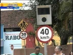 Lombadas eletrônicas seguem desligadas em Joinville - Lombadas eletrônicas seguem desligadas em Joinville