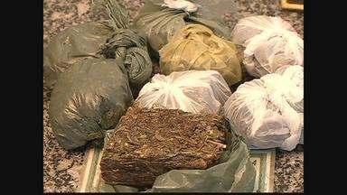 Polícia detém cinco pessoas envolvidas com tráfico de drogas em Petrolina - A polícia apreendeu quase 900 gramas de cocaína. Um adolescente fazia parte do grupo.