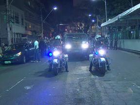 Forças Armadas ensaiam o Desfile da Independência na noite da última quinta - O treinamento provocou mudanças no trânsito do Campo Grande no início da noite, e teve muita gente que reclamou.