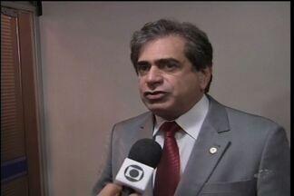 Em Fortaleza houve confusão na Assembleia Legislativa para votar mudança na aposentadoria - Requerimentos dos deputados ficaram fora da pauta.