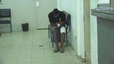 Ladrões tentam roubar casa de policial, em Mongaguá - Houve troca de tiros e um dos criminosos ficou ferido. Dois bandidos foram encaminhados à Delegacia Sede da cidade.