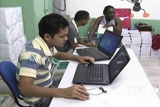 Mesmo com bolsa no valor de R$ 100, é pequena procura pelos cursos do Projovem em Codó - O programa do governo federal capacita jovens para o mercado de trabalho.
