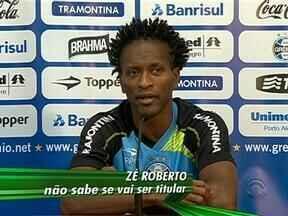 Grêmio se prepara para receber a Portuguesa na Arena - Zé Roberto deve retornar à equipe de Renato para enfrentar ex-clube.