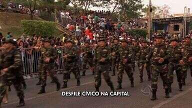 Desfile cívico de 7 de setembro será em novo endereço em Cuiabá - O desfile cívico de 7 de setembro será em frente à 13ª Brigada de Infantaria Motorizada em Cuiabá.