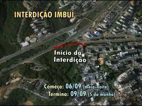 Trânsito na região do Imbuí será modificado a partir desse sábado - As mudanças serão na entrada do bairro. Confira como vai ficar o tráfego na região.