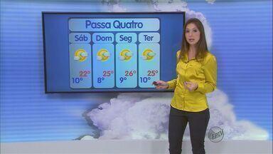 Confira a previsão do tempo no Sul de Minas para esse sábado (7) - Confira a previsão do tempo no Sul de Minas para esse sábado (7)