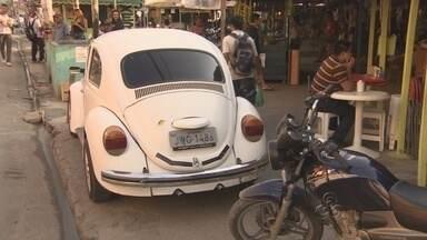 Moradores voltam a criticar problema de desordem no trânsito em bairro de Manaus - Além do desrespeito às leis de trânsito foi constatado que a sinalização no bairro era precária