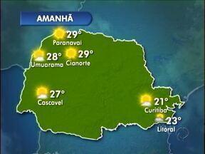 Feriado de sol e tempo aberto no noroeste - A máxima chega aos 29º neste sábado (07) em Paranavaí.